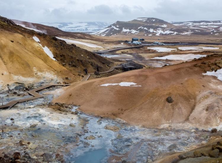 Seltun Geothermal Park, Iceland