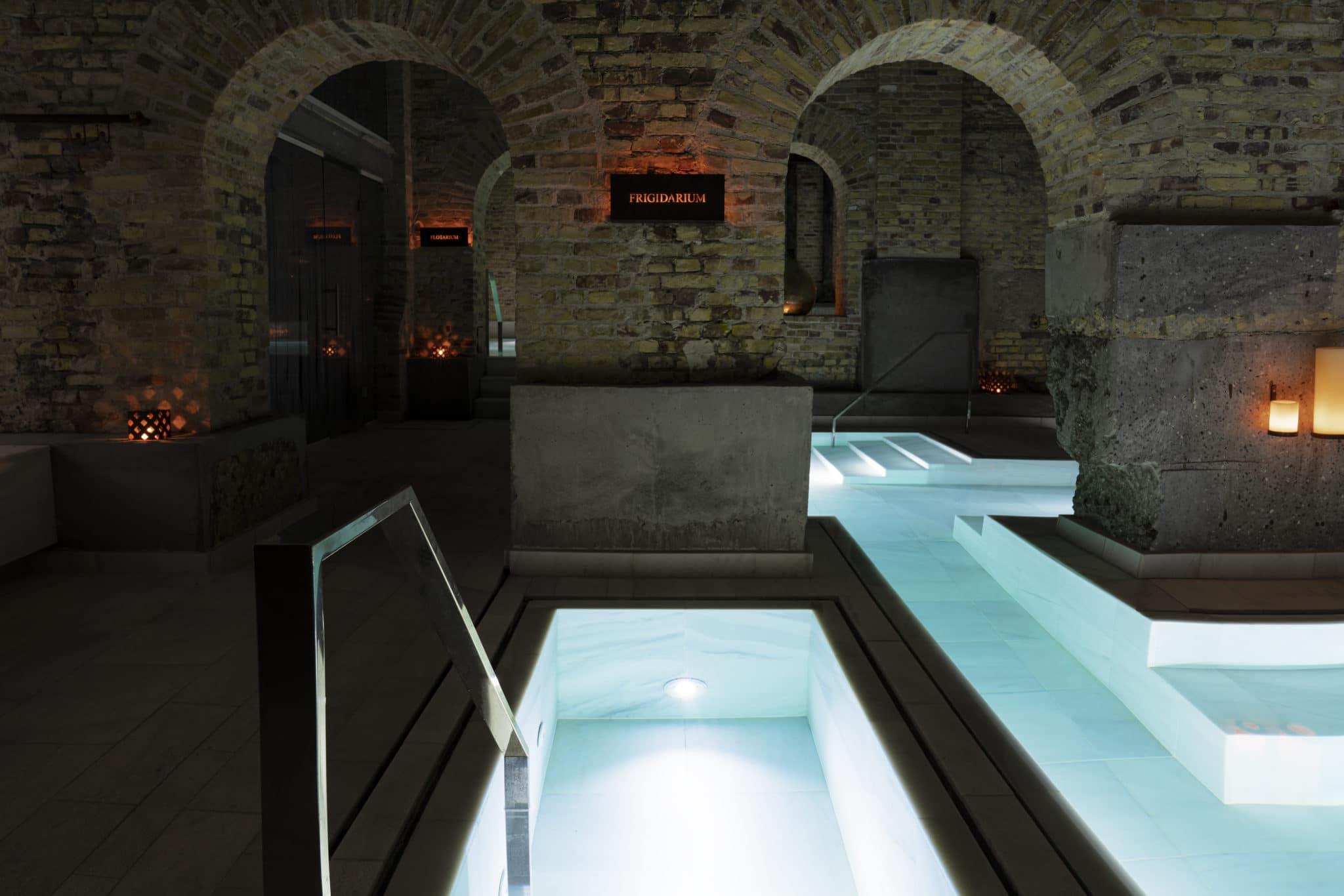 AIRE Ancient Baths Copenhagen – Frigidarium ice bath