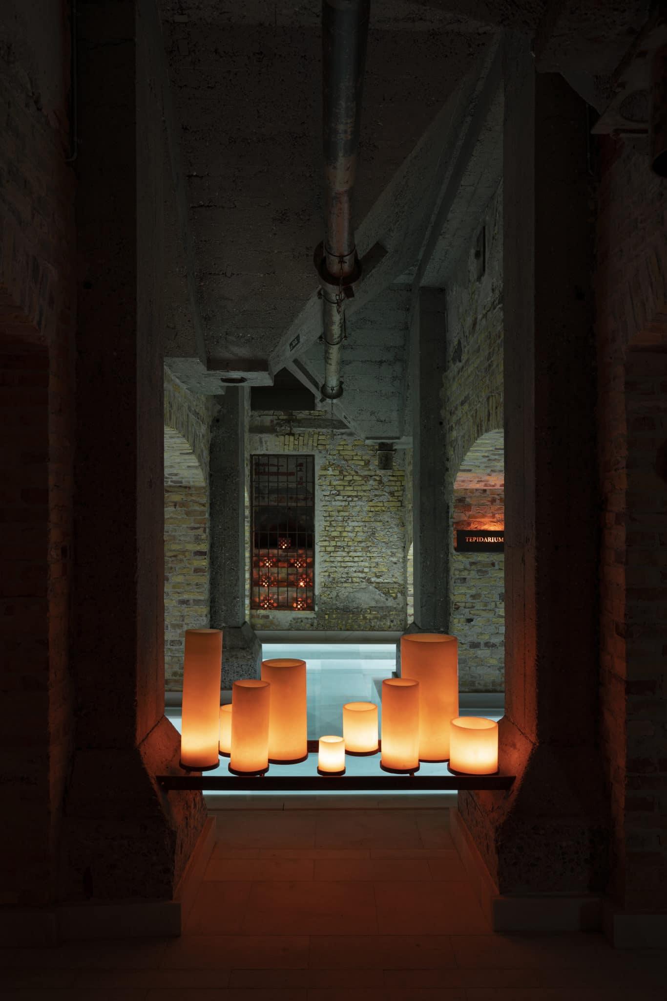 AIRE Ancient Baths Copenhagen candles