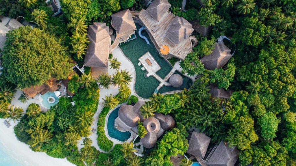Soneva-Fushi-Maldiverne - Villa11Drone_SonevaFushi_byAliciaWarner-4